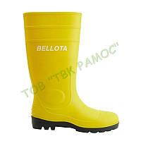 Ботинки резиновые ПВХ (Water) жёлтые Bellota, артикул 72244