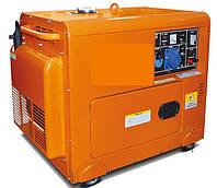 BDG7000E-SILENT Генератор дизельный 6,5 кВт BULAT