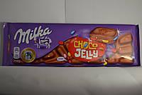 Шоколад молочный Milka Choco Jelly 300гр