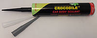 Герметик полиуретановый шовный Crocodile (Крокодил) 310 мл Черный