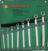 Набор ключей накидных 75-гр., 6-22 мм, 8 предметов JONNESWAY (W23108S)