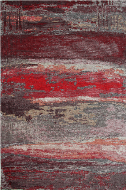 Ковер Smart Grey Red бордовый серый
