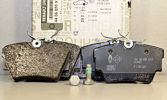 Тормозные колодки задние на Renault Trafic III + Opel Vivaro II 14->  - Renault (Оригинал) - 440607091R