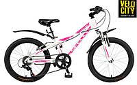 Велосипед Spelli Viola 20 белый матовый, фото 1