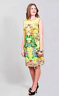 Платье женское с оригинальным принтом