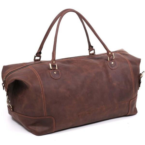 Дорожная сумка большая из кожи crazy