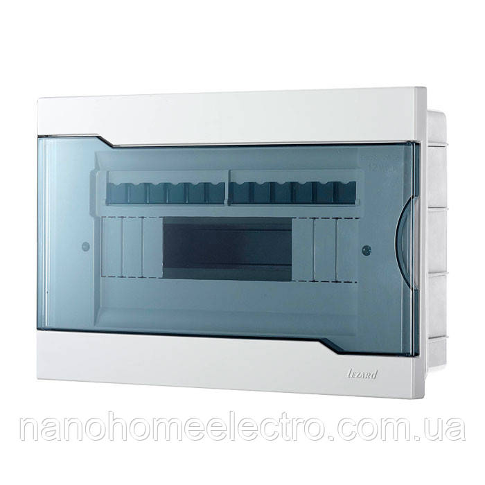 Коробка внутреннего монтажа для 12 автоматов  LEZARD