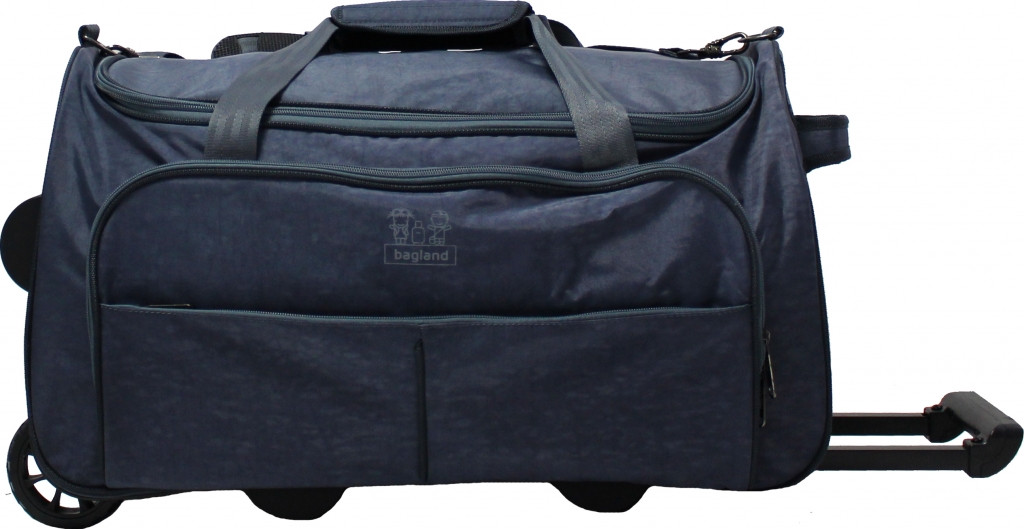 Дорожная сумка на колесах 60L Bagland Таллин 37070-3 серая