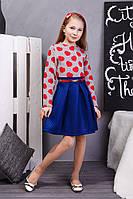 Модное подростковое платье для девочки