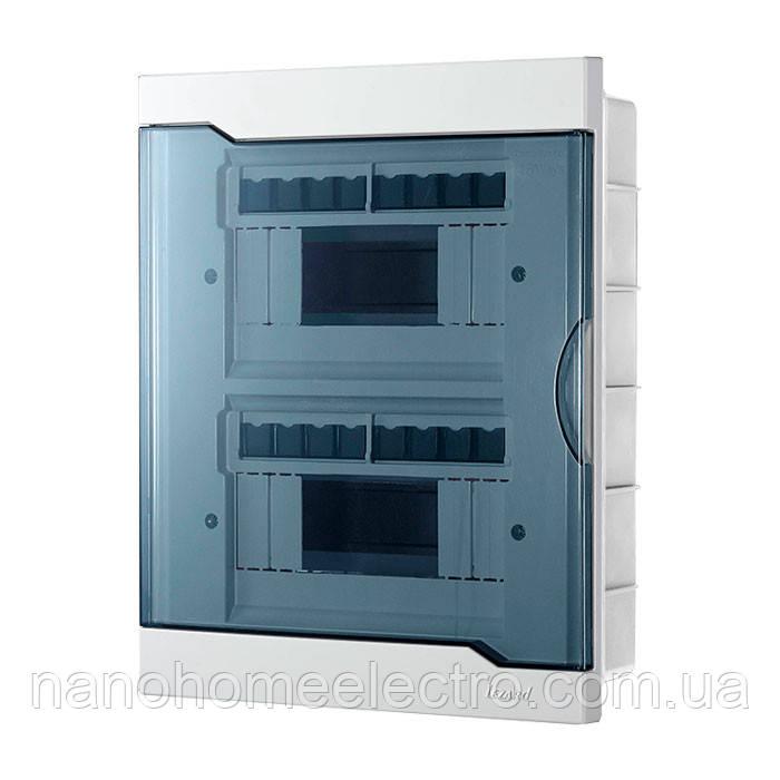 Коробка внутреннего монтажа для 16 автоматов  LEZARD