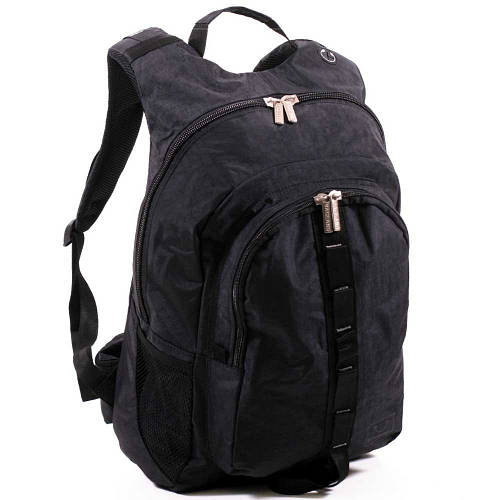 Прочный рюкзак из нейлона 32 л. Bagland, Украина 17770-2 черный