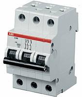 Автоматический выключатель ABB SH203-C16 тип C, 16А 3-х полюсной