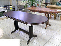 Стол трансформер  Нью-Хейвен МДФ ТМ Биформер, цвет темный орех