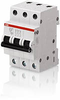 Автоматический выключатель ABB SH203-B16 тип В, 16А 3-х полюсной