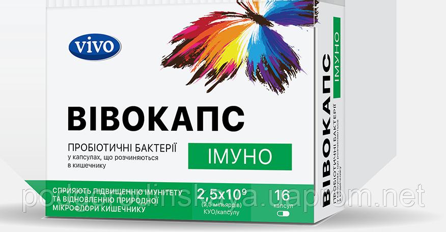 Пробиотики ВИВОКАПС  Иммуно