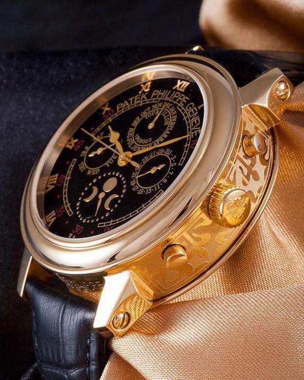 Мужские механические часы в стиле Patek Philippe Sky Moon ... f63a3a672cf