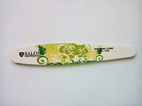 Пилочка для ногтей Salon 180/240 тефлон овал
