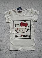 Красивая футболка на девочек Hello Kitty