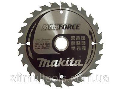 Пильный диск по дереву Makita Makforce 190х16 мм