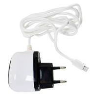 Зарядное устройство PowerPlant Lightning for iPhone 5, 1A (DV00DV5040)
