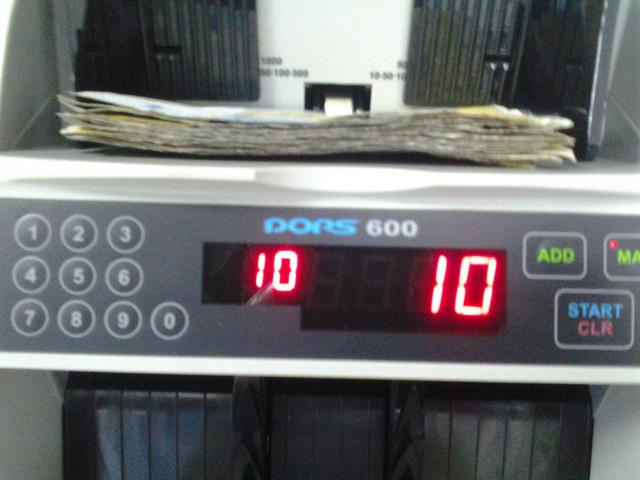 купюросчетная машинка DORS 600