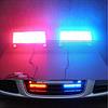 Автомобильный стробоскоп красный/синий светодиодный