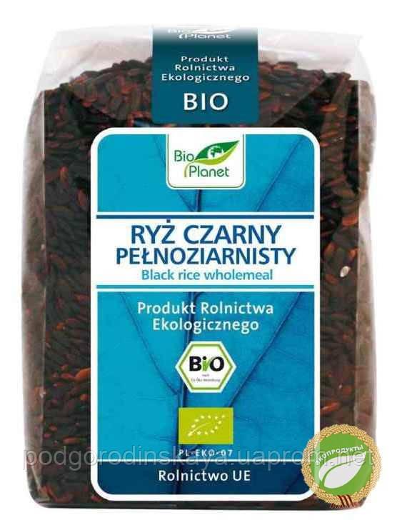 Рис черный цельнозерновой органический, 400 г