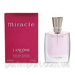 Lancome MIRACLE EDP 30 ml Парфюмированная вода (оригинал подлинник  Франция)