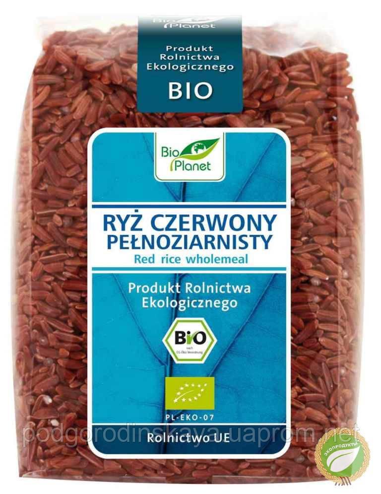 Рис червоний цільнозерновий органічний, 400 г