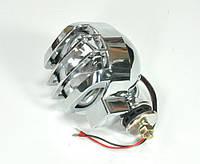 Поисковый прожектор, ксенон LS6011 + крышка (хром)