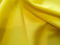 Шифон стрейч  желтый
