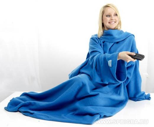 Плед с рукавами  Snuggle, фото 2