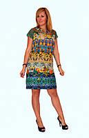 Платье женское летние с модным принтом