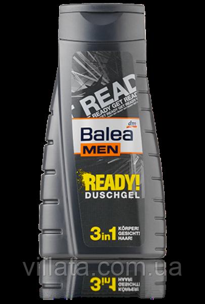 Гель для душа мужской Balea Ready 3in1 300 ml
