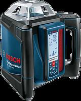 Нивелир лазерный ротационный Bosch GRL 500 HV + LR 50 Professional 0601061B00, фото 1