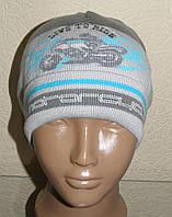 Демисезонная шапочка для мальчиков