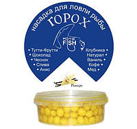 Насадка горох крашеный KING FISH 150мл ваниль
