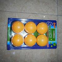Теннисные шарики 40мм, бесшовные, MS0226