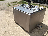 Охладитель молока откритого типа Westfalia 600 л.