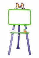 Мольберт для рисования магнитный (для мела и маркера), салатово-фиолетовый, 013777/6