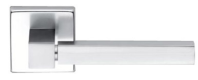 Дверная ручка Brialma QUADRO, шлифованный алюминий, Италия