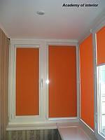 Рулонные шторы тканевые UNI 17 D