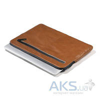 Чехол Decoded Leather Sleeve with Zipper for Apple MacBook Pro / Retina 15 Brown (D3SZ15BN)