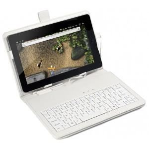 Чехол-клавиатура для планшета 10 дюймов USB White