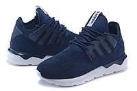 Кроссовки мужские Adidas Tubular Moc Runner Suede синие