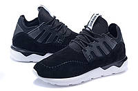 Кроссовки мужские Adidas Tubular Moc Runner Suede черные