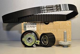 Комплект натяжитель + ролик + ремень ГРМ на Renault Kangoo II 2008->  1.6i 16V  — Renault - 130C17529R