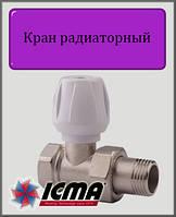 """Ручной вентиль простой регулировки 1/2"""" ICMA прямой"""