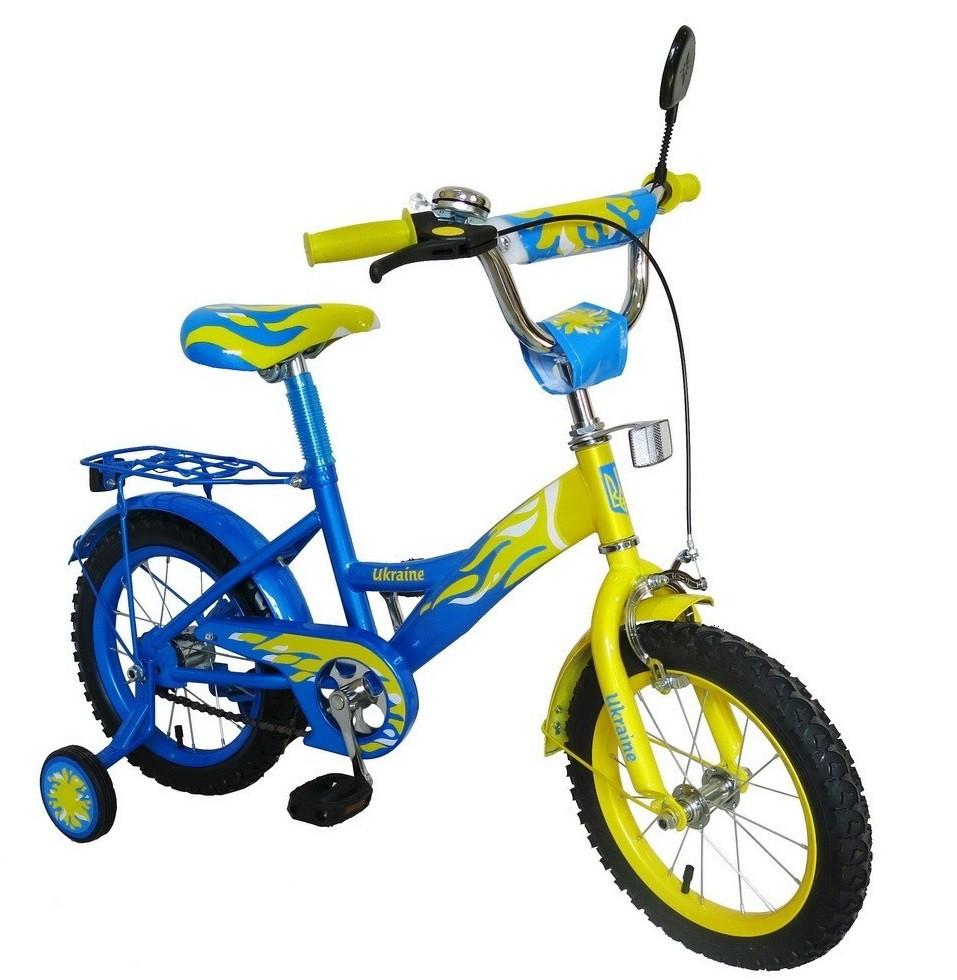 """Детский двухколесный велосипед 16 дюймов """"Украина"""" 151613"""