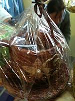 Сувенир-шкатулка - кружка из соломы  шоколад